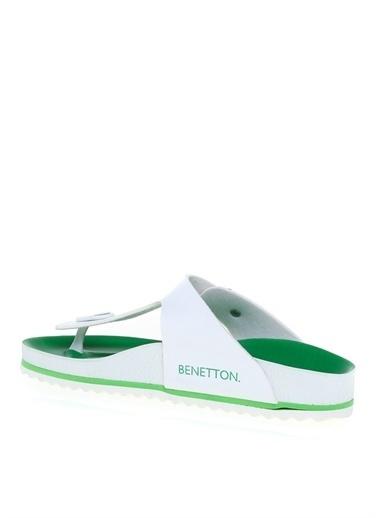 Benetton Benetton BN-1085 Ladies Terlik Yeşil